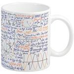 ماگ انارچاپ طرح ریاضی مدل MU224