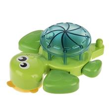 Blue Box Toby The Tub Turtle Bath Toys