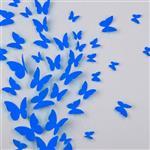 استیکر پروانه سالی وان طرح BLUE