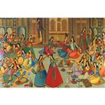 تابلو شاسی گالری هنری پیکاسو طرح هشت بهشت