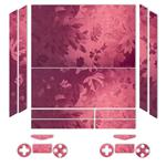 MAHOOT Red Wild-flower Texture Sticker for PS4