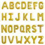 بادکنک فویلی حروف طلایی – 16 اینچ