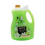 مایع دستشویی 3.75 لیتری صدفی حاوی پروتئین سویا سبز اکتیو