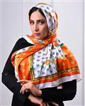 روسری ساتن طرح GUCCI مدل 0632