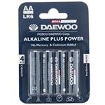 Daewoo Alkaline plus Power AA Battery Pack of 4