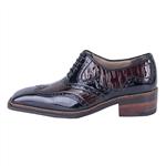 کفش مردانه چرم پاسارگاد مدل هشت ترک کد 102526