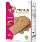 نان  سوخاری حاوی بذرکتان، زنجبیل و آرد چاودار تلاش – ۴۰۰ گرم