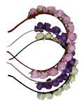 Universal Fashion تل سر گلدار بسته سه عددی