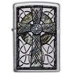 فندک زیپو مدل Celtic Cross Design