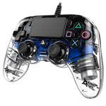 PS4 Nacon Compact Controller Blue Crystal