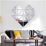 آینه دکوراتیو سایان هوم مدل قلب سایز 130 در 127