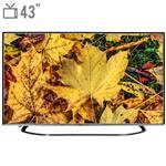 تلویزیون ال ای دی هوشمند هیوندای مدل 43SQ3680 سایز 43 اینچ
