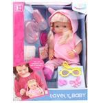 عروسک وارم بیبی مدل Lovely Baby