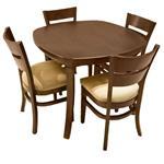 میز ناهارخوری اسپرسان چوب مدل SM02