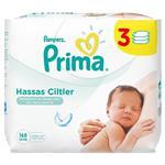 دستمال مرطوب نوزاد ضد حساسیت پریما پمپرز بسته 3 عددی pampers prima sensitiv