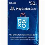 Play Station Network PSN 50 Usd Gift Card US