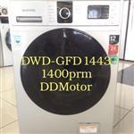 ماشین لباسشویی 8 کیلویی 1400 دور دوو DWD-F1443