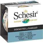 Schesir Tuna With Hake-40197 Cat Food