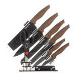 ست چاقوی 8 پارچه لاکی مدل LK-NS08