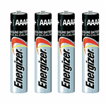 Energizer Pile Alkaline AAAA Battery 4PCS