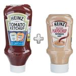 Heinz Tomato Ketchup Sauce Dressing 910gr With Heinz Delicious Mayochup Light Sauce Dressing 400gr