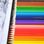 مداد رنگی ۳۶ رنگ جعبه فلزی پیکاسو