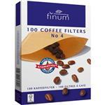 فیلتر قهوه فینوم سایز 4 - بسته 100 عددی