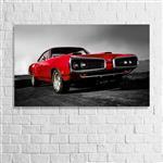 تابلو دیواری چوبی پاتیلوک - طرح اتومبیل کد 1530014