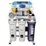 دستگاه تصفیه آب خانگی 8 مرحله ای اکسیژن ساز - قلیایی ساز - املاح معدنی - اسمزمعکوس آکوآاسپرینگ مدل OX-S177