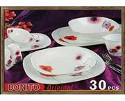 سرویس غذاخوری آرکوپیرکس 30 پارچه بونیتو کد 805 قالب مربع