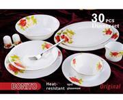 سرویس غذاخوری آرکوپیرکس 30 پارچه بونیتو کد 315 قالب گرد