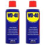 پک اسپری روان کننده WD-40 حجم 400 میلی لیتر  بسته 2 عددی