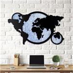 تابلو دیواری هوم لوکس طرح کره زمین