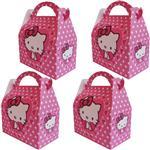 جعبه کادویی طرح Hello Kitty کد 08711 بسته 4 عددی