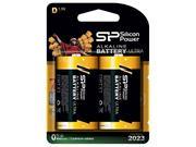 باتری بزرگ سیلیکون پاور Alkaline پک 2 تایی