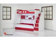 سرویس خواب نوجوان و تخت دو طبقه مدل پرند