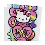 دستمال ستاره رنگارنگ مدل کیتی بسته 20 عددی