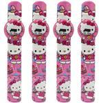 ساعت مچی دیجیتالی مدل Hello Kitty 02 - بسته 4 عددی