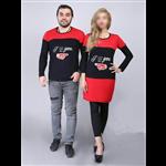 ست تیشرت مردانه و تونیک زنانه SETILA مدل...