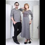 ست لباس بلند زنانه و تی شرت مردانه SETILA...