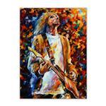 تابلو شاسی گالری سیمبا مدل E24 طرح Kurt Cobain