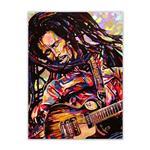 تابلو شاسی گالری سیمبا مدل E20 طرح Bob Marley