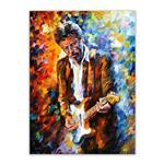 تابلو شاسی گالری سیمبا مدل E21 طرح Eric Clapton
