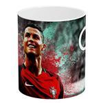 ماگ آبنبات رنگی مدل AR0157 Cristiano Ronaldo