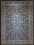 فرش مشهد اردهال ۱۲۰۰ شانه طرح خشتی کد ۸۳ پرکلاغی