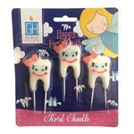 شمع تولد  بانیبو مدل First Tooth Girl