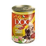 کنسرو توله سگ مونژه monge با طعم مرغ و برنج