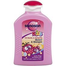 شامپو سر و بدن بچه سانوسان مدل Kids Raspberry حجم 200 ميلي ليتر