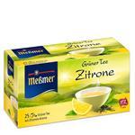 چای سبز لیمو آلمانی مسمر مدل Gruner Tee Zitrone بسته 25 عددی