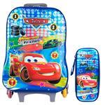 کیف مدرسه چرخدار مدرن کیف پارسیان مدل 02